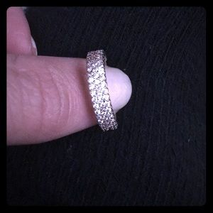 Ashlynn Avenue piper rose silver ring